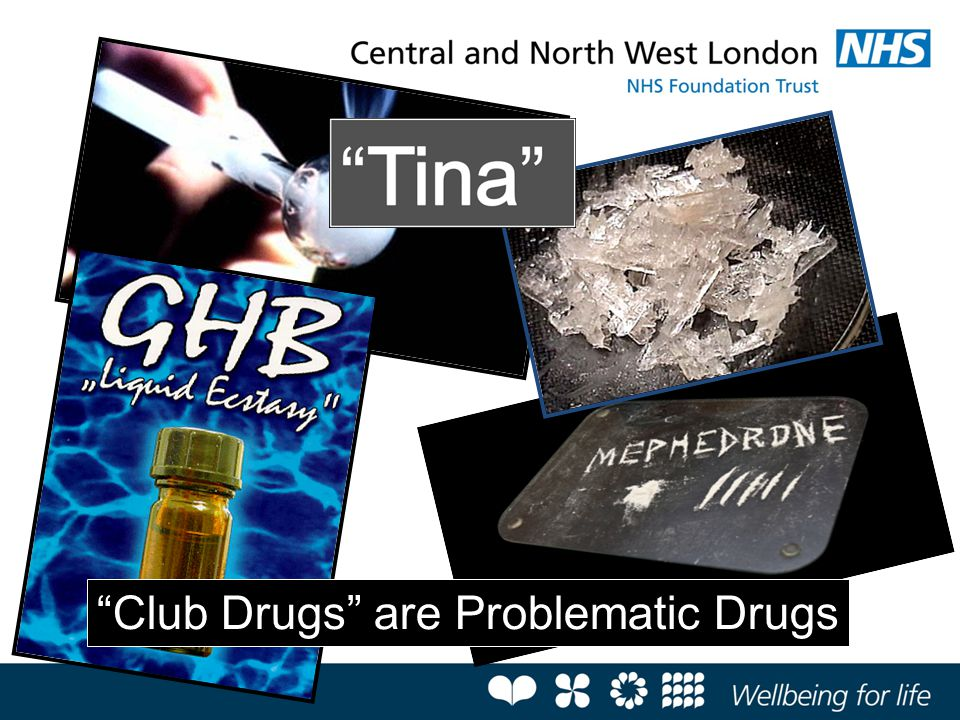 Club Drugs are Problematic Drugs