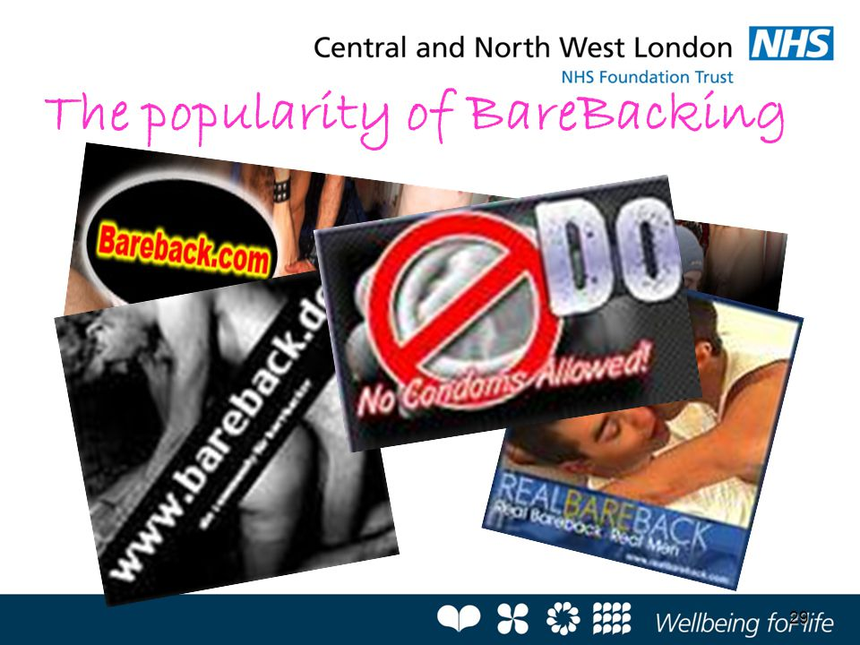 The popularity of BareBacking