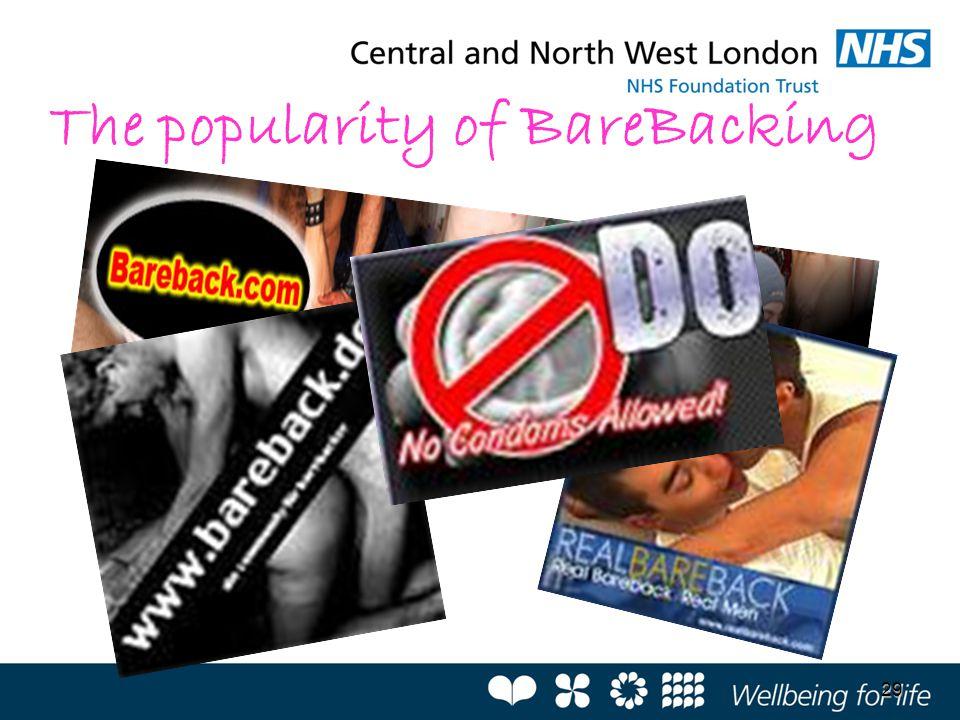 The popularity of BareBacking
