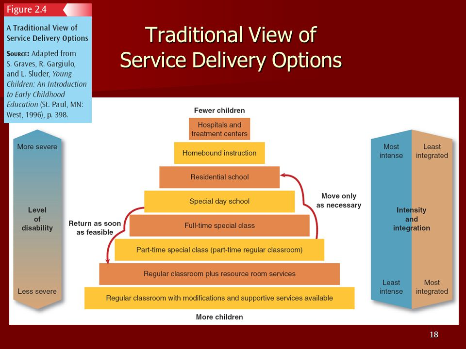 Traditional View of Service Delivery Options