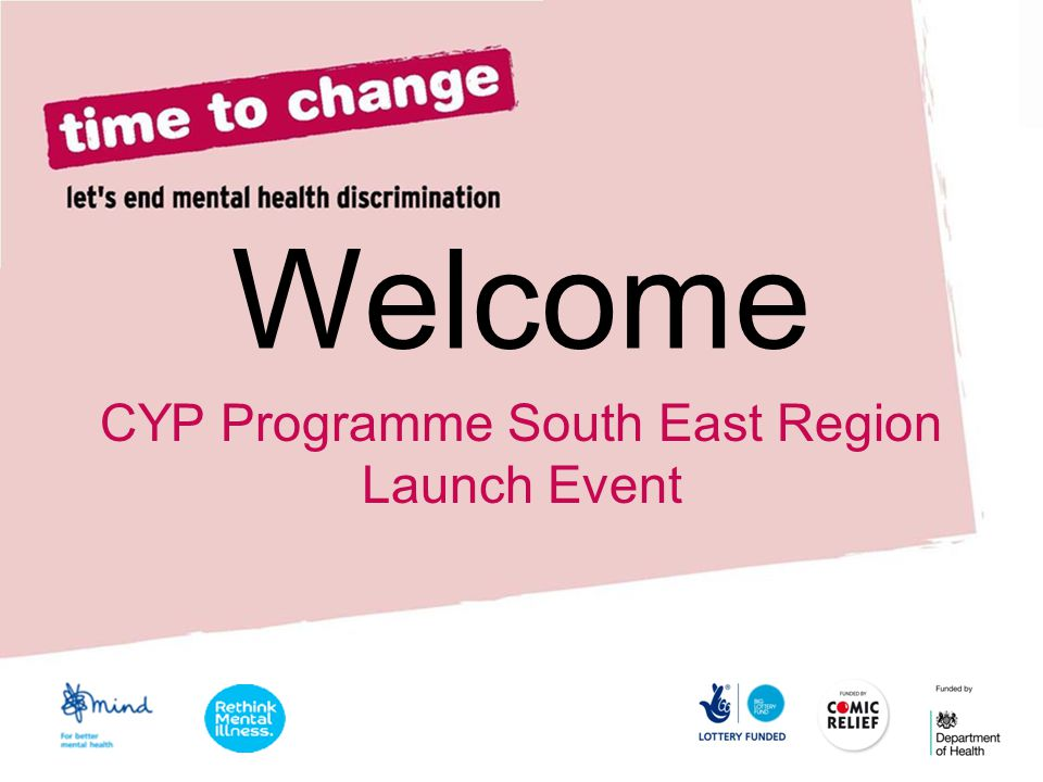 CYP Programme South East Region Launch Event