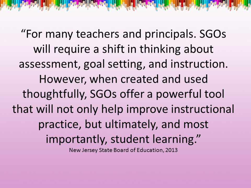 For many teachers and principals