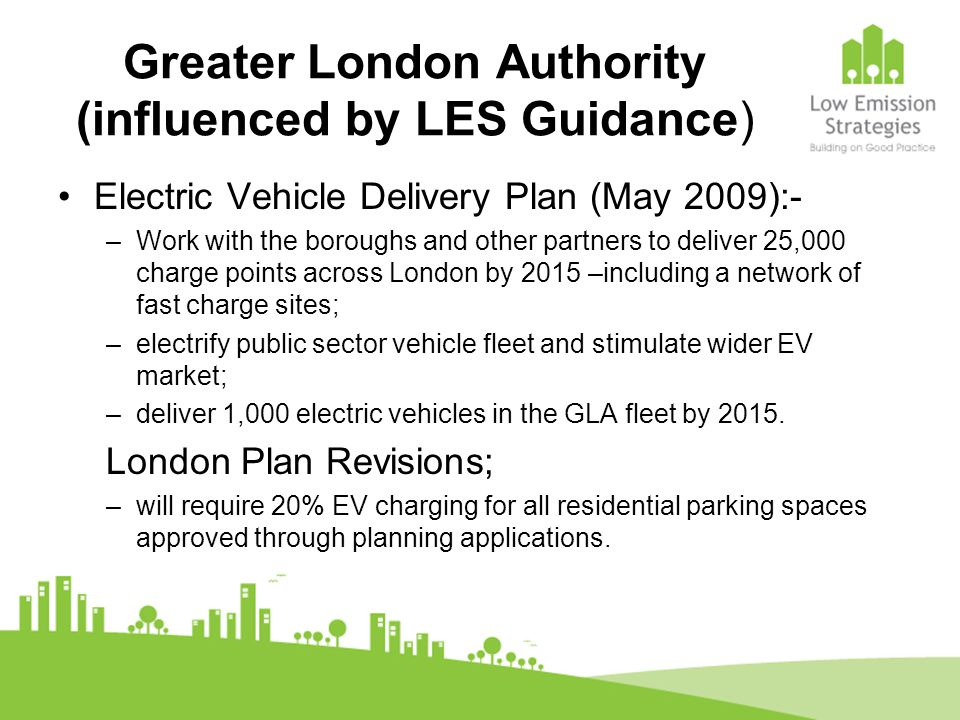 Greater London Authority (influenced by LES Guidance)