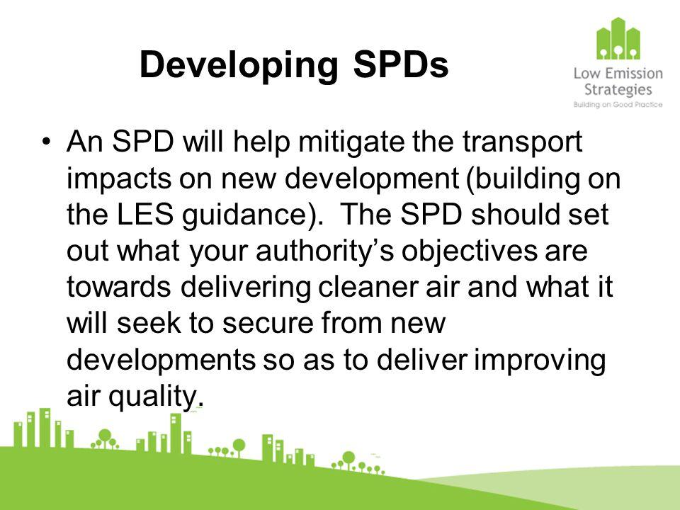 Developing SPDs