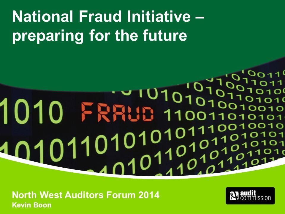 National Fraud Initiative – preparing for the future