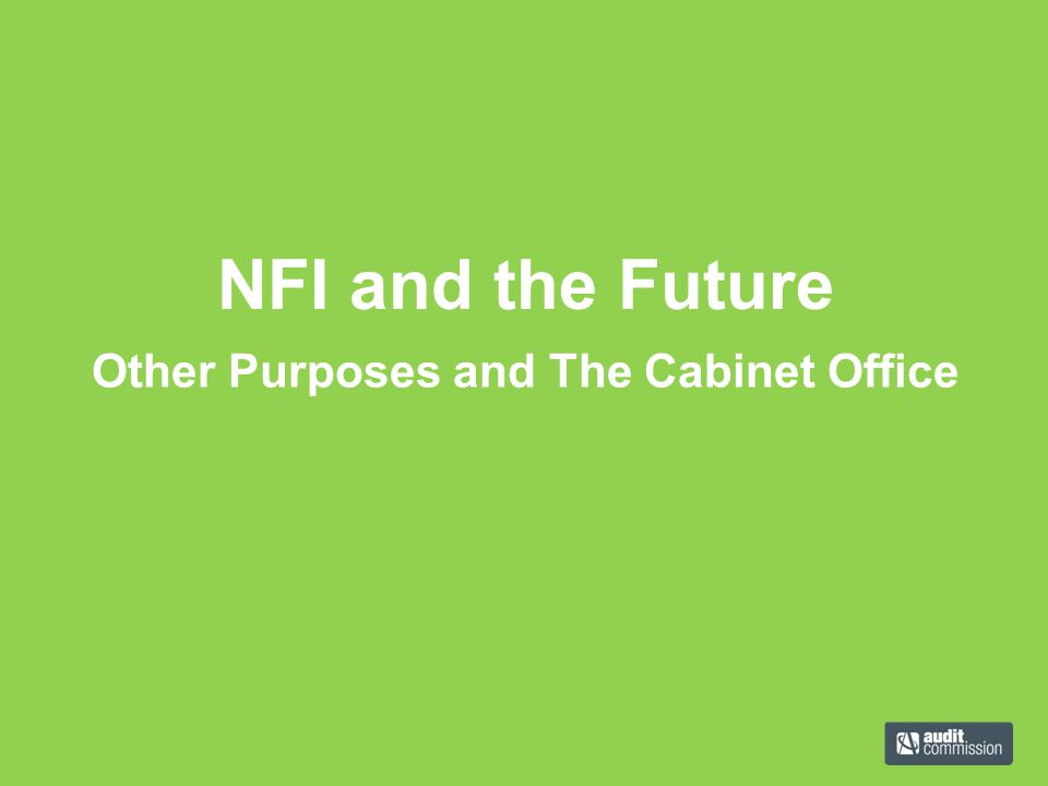 Other Purposes and The Cabinet Office