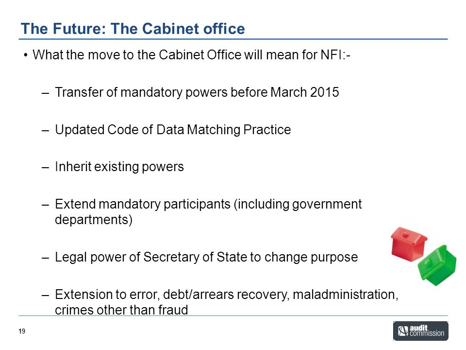 The Future: The Cabinet office