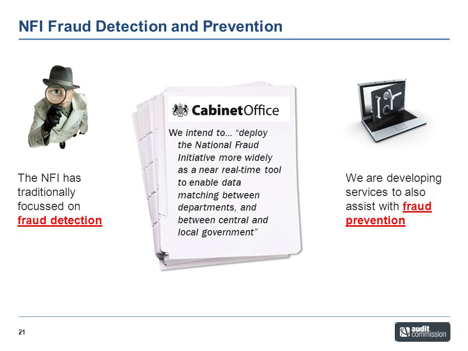 NFI Fraud Detection and Prevention