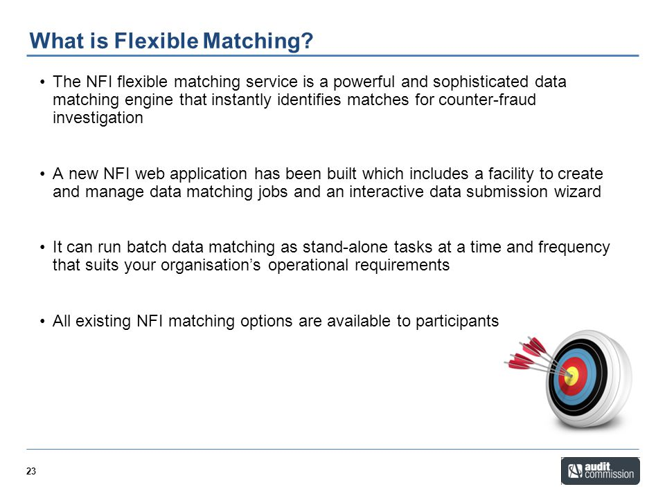 What is Flexible Matching