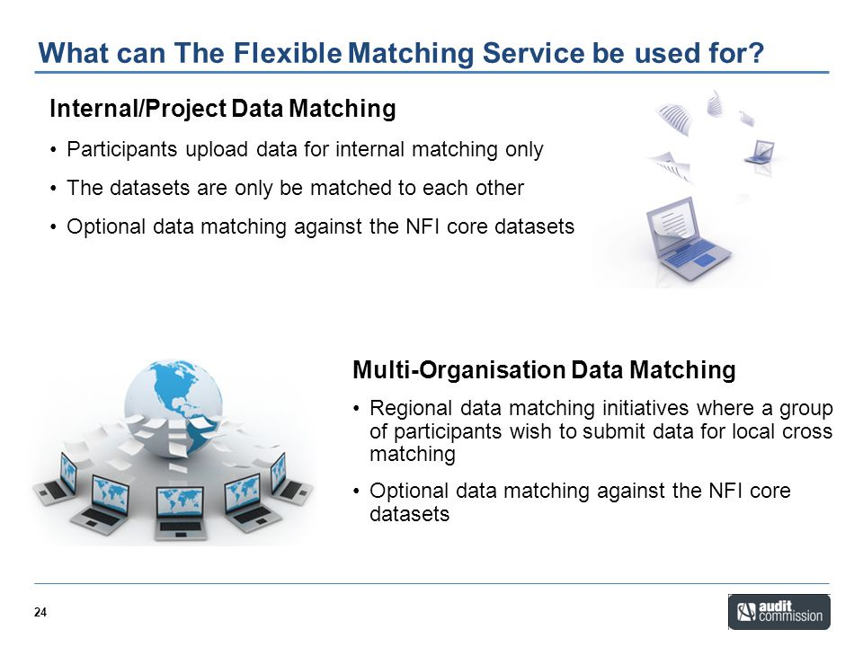What can The Flexible Matching Service be used for