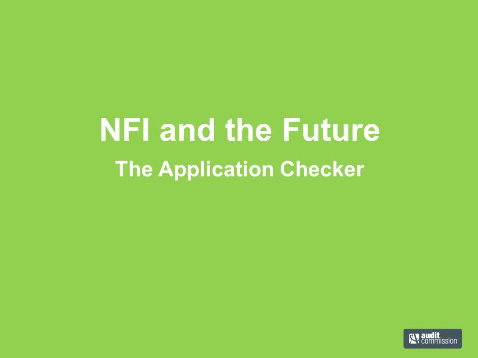 The Application Checker