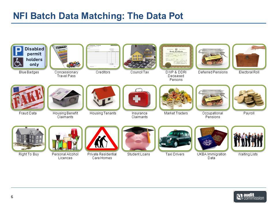 NFI Batch Data Matching: The Data Pot