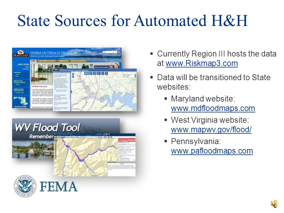 State Sources for Automated H&H
