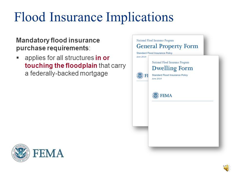 Flood Insurance Implications