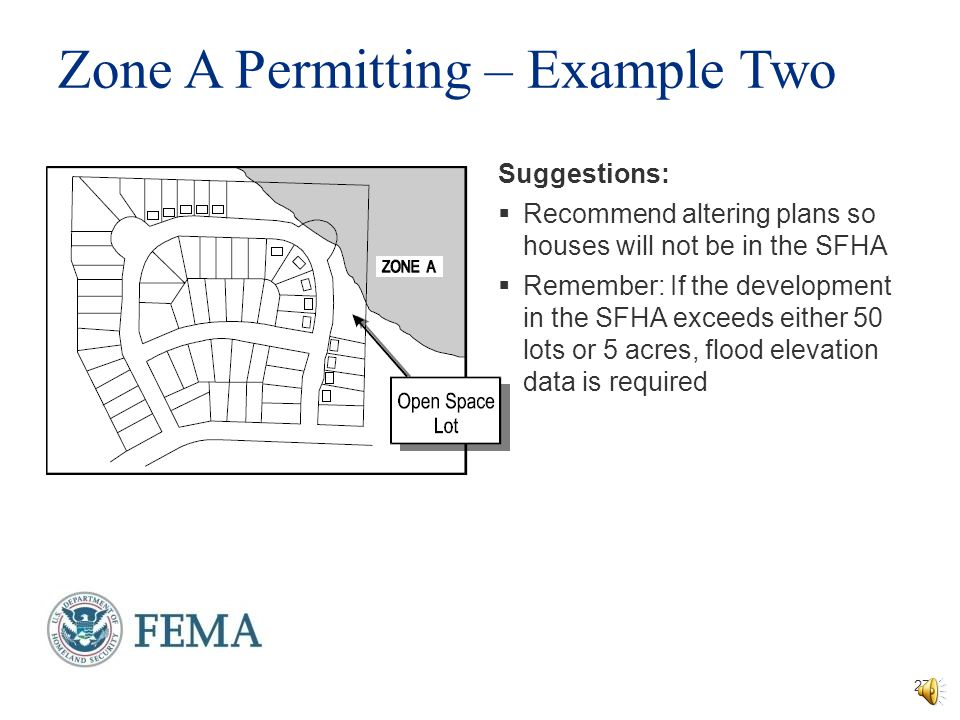 Zone A Permitting – Example Two