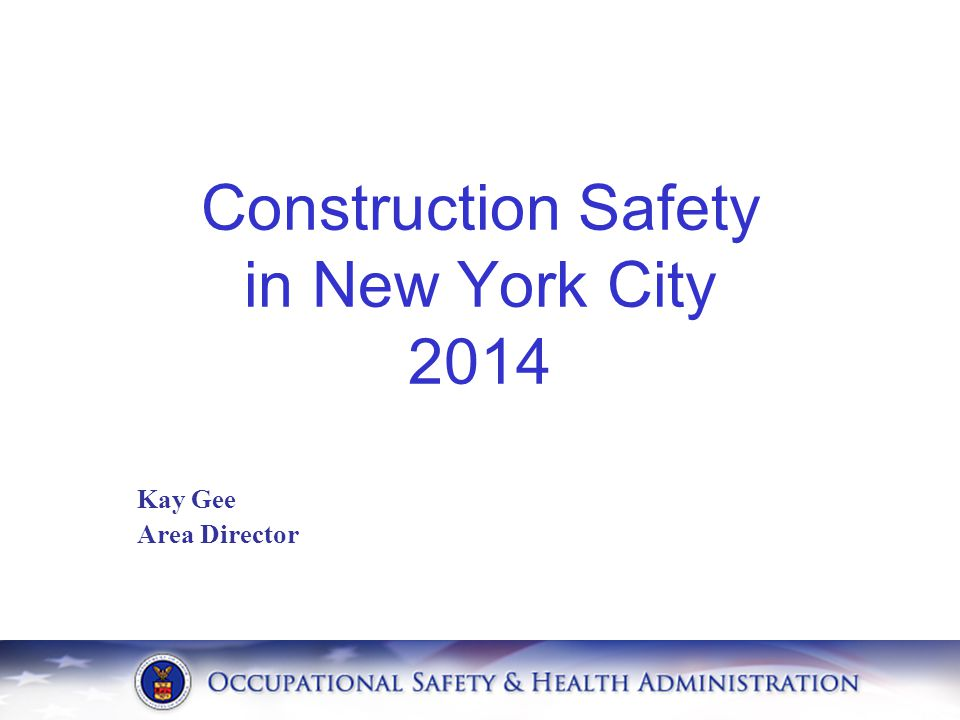 Construction Safety in New York City 2014