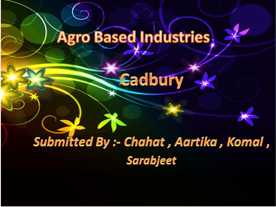 Cadbury Submitted By :- Chahat , Aartika , Komal , Sarabjeet