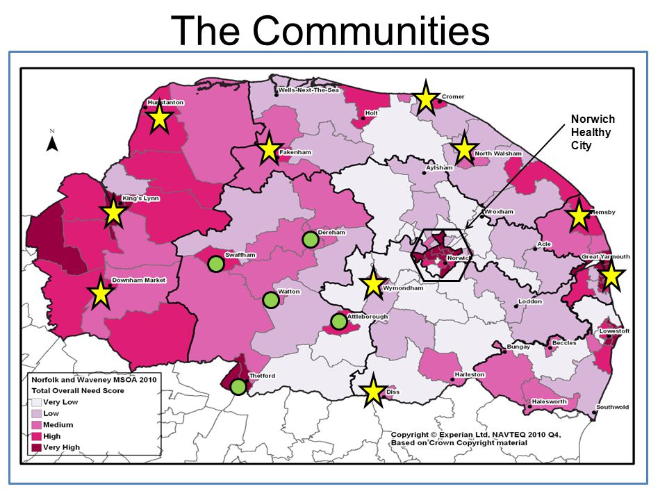 The Communities Norwich Healthy City