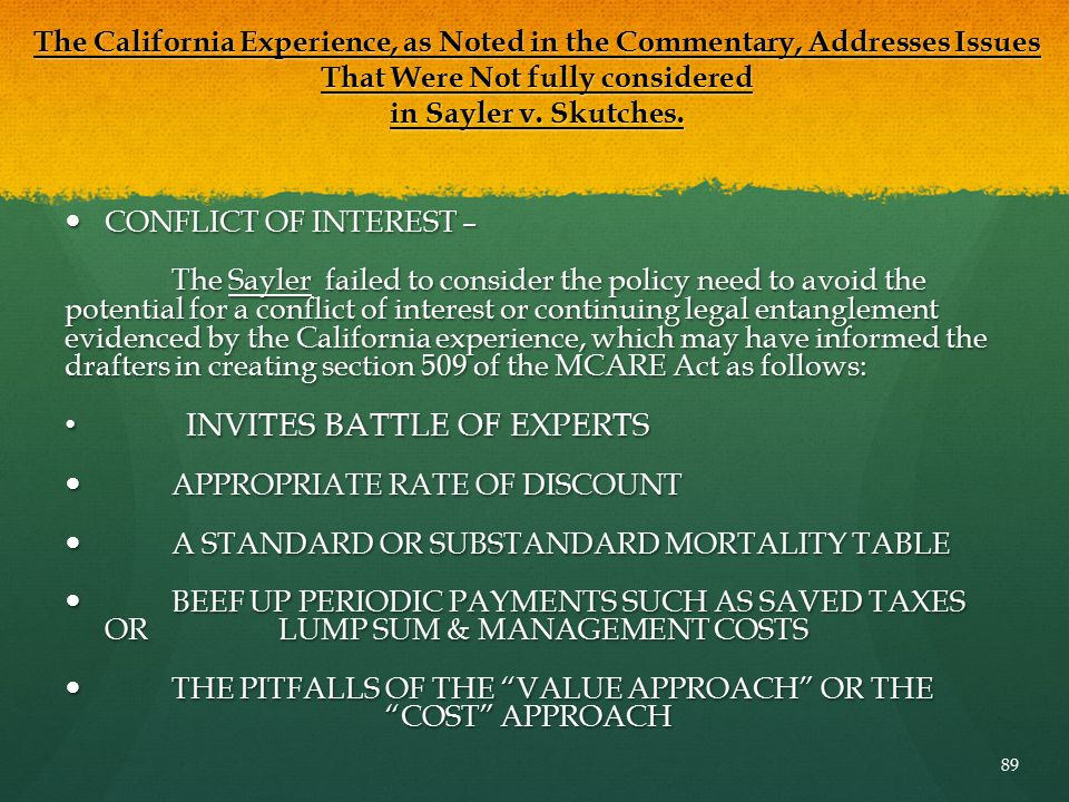 INVITES BATTLE OF EXPERTS