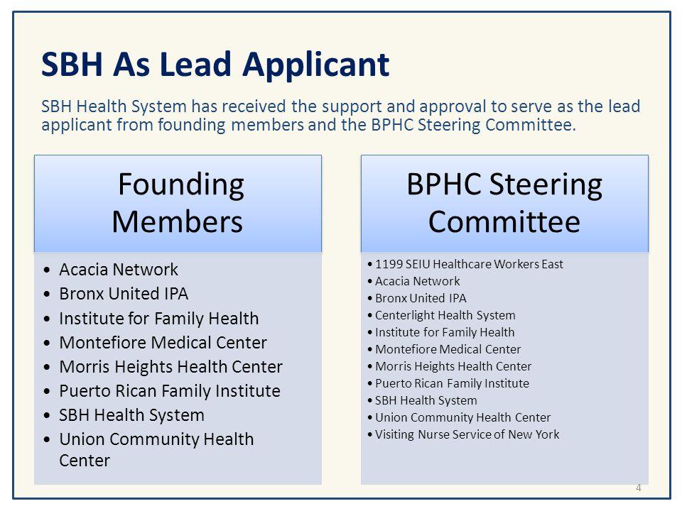 BPHC Steering Committee