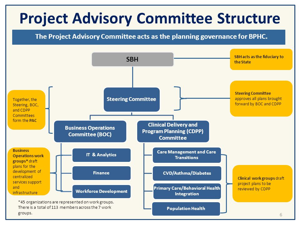 Project Advisory Committee Structure and Processes
