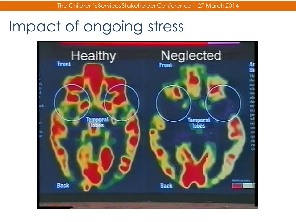 Impact of ongoing stress