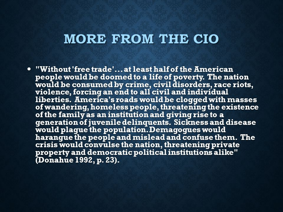 More from the CIO