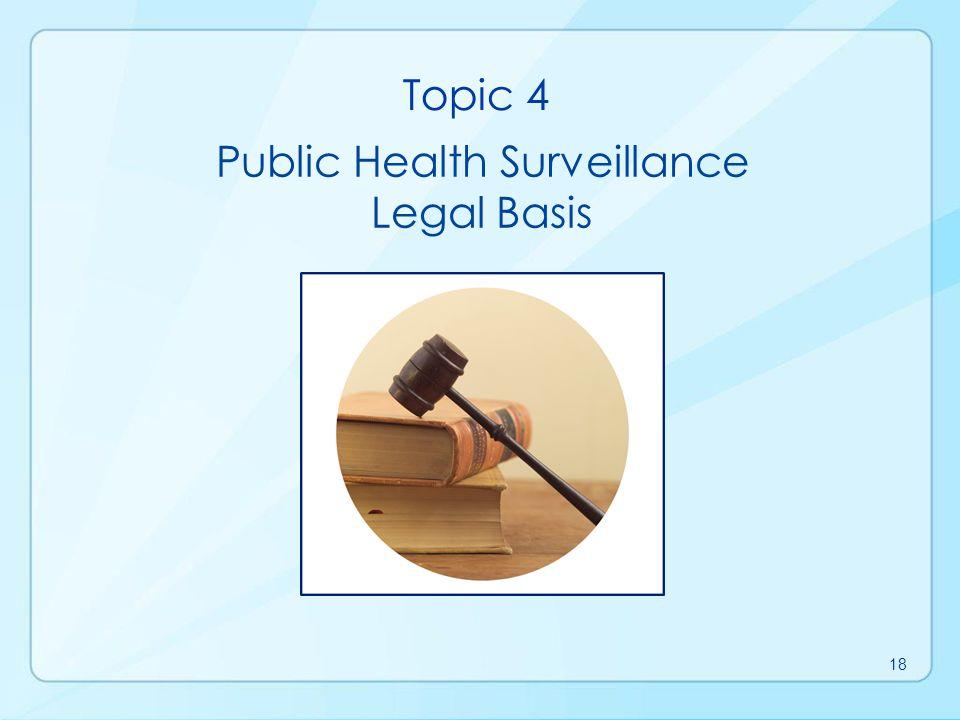 Public Health Surveillance