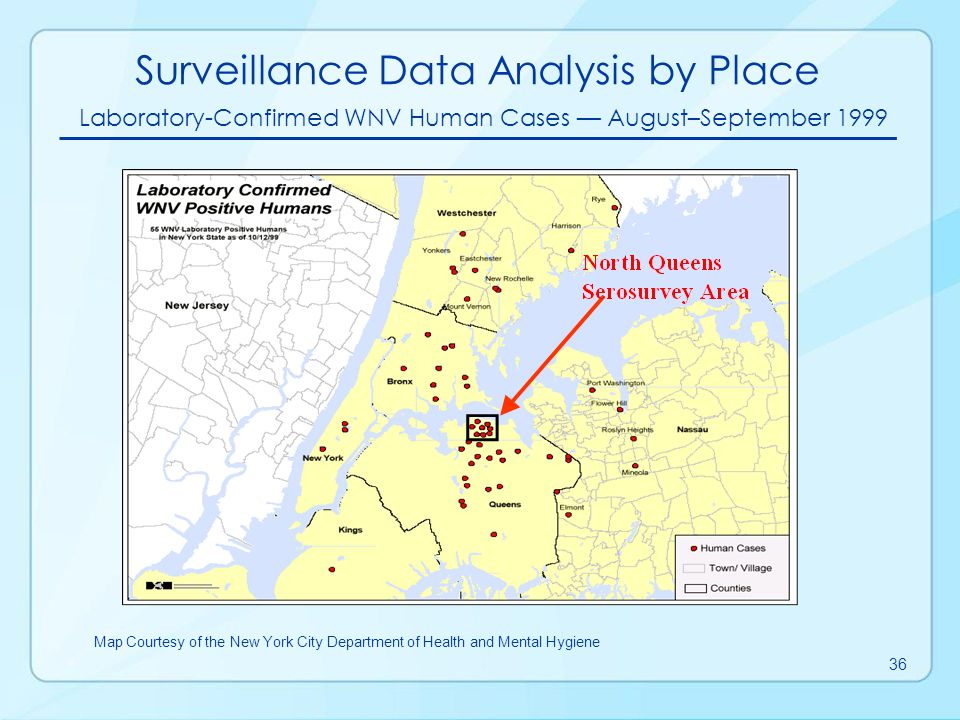 Surveillance Data Analysis by Place