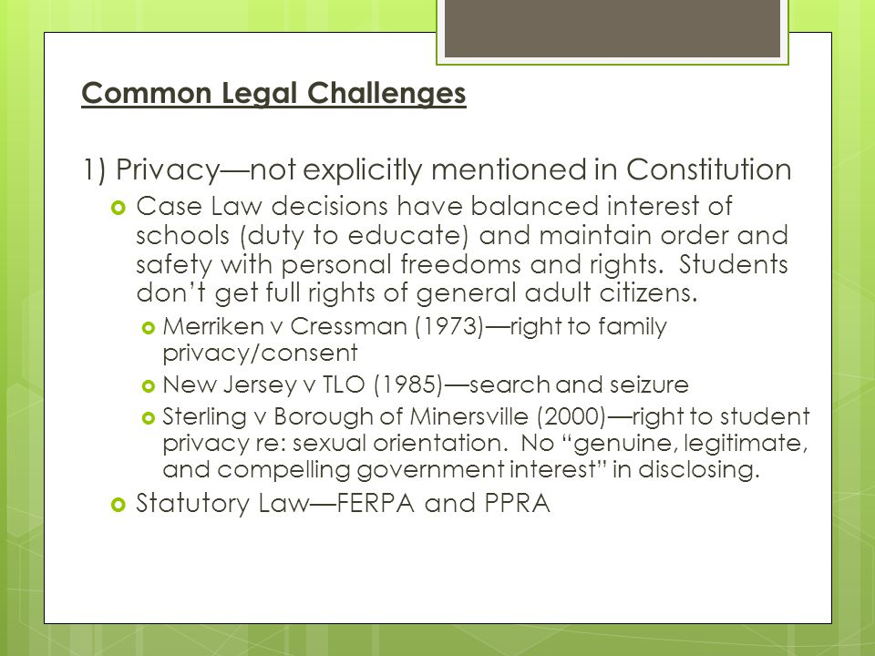 Common Legal Challenges