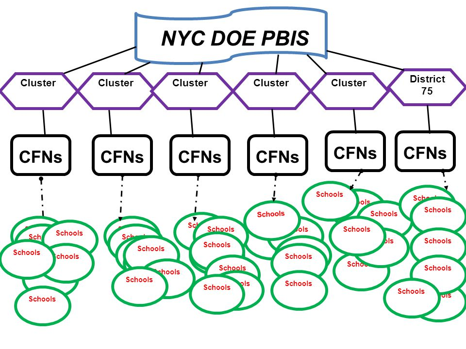 NYC DOE PBIS CFNs CFNs CFNs CFNs CFNs CFNs District 75 Cluster Cluster