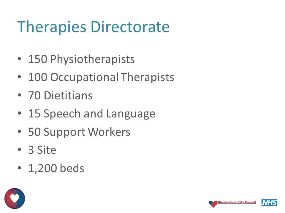 Therapies Directorate