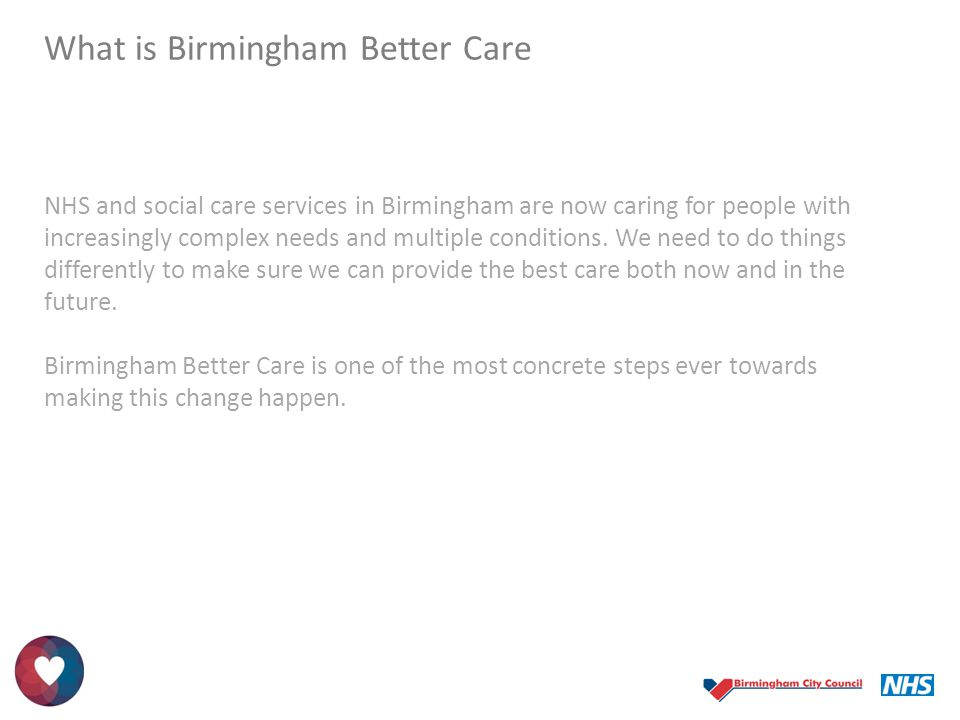 What is Birmingham Better Care