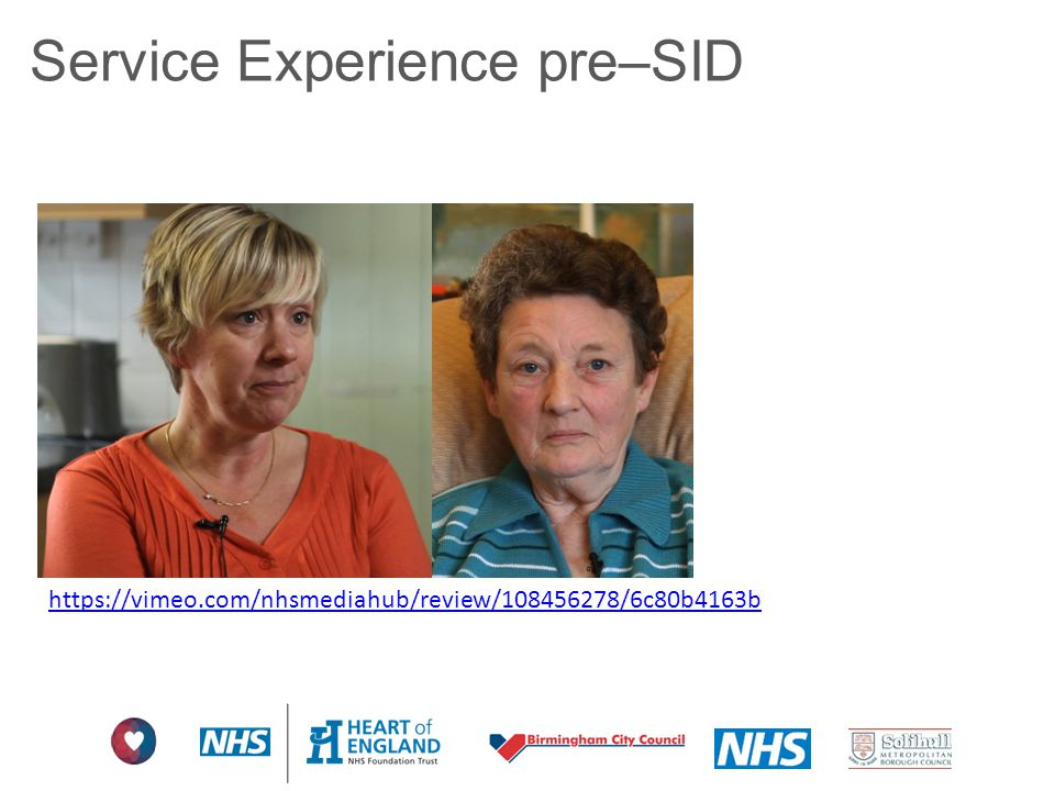 Service Experience pre–SID