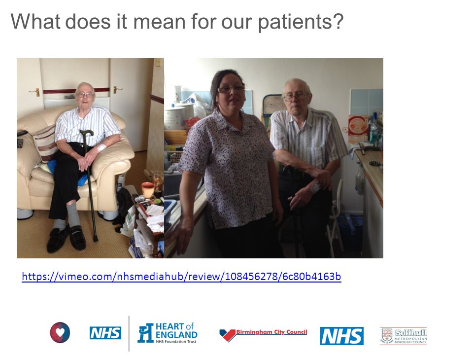 What does it mean for our patients