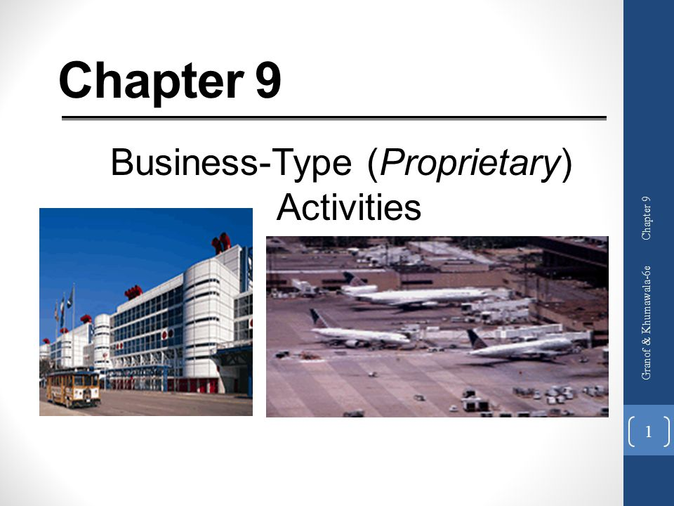 Business-Type (Proprietary) Activities