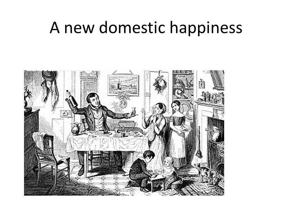 A new domestic happiness