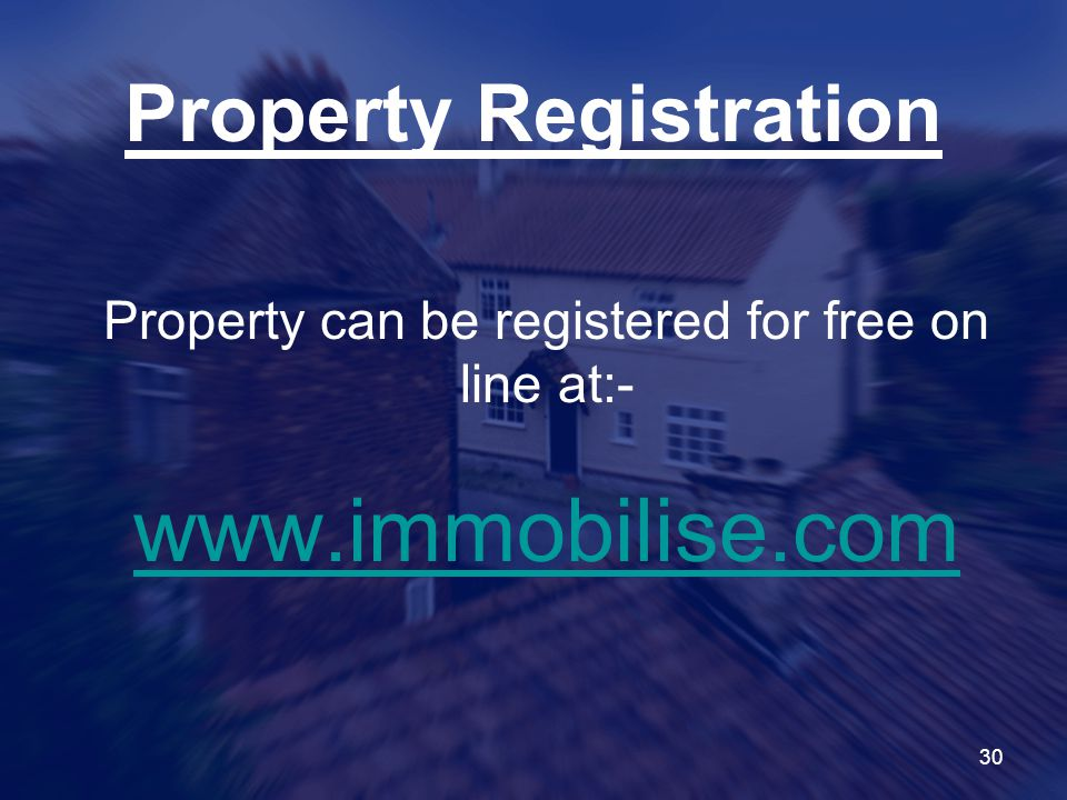 Property Registration