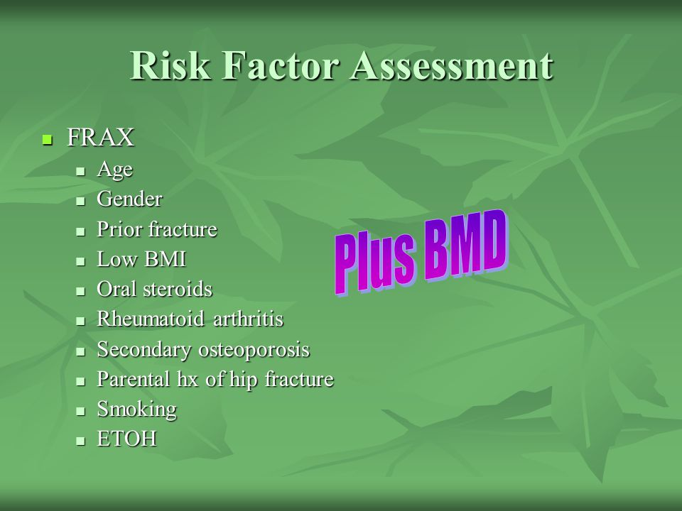 Risk Factor Assessment