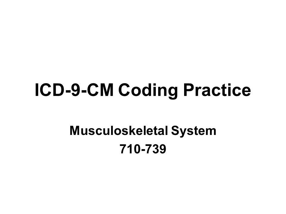 ICD-9-CM Coding Practice