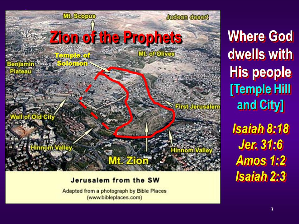 Where God dwells with His people