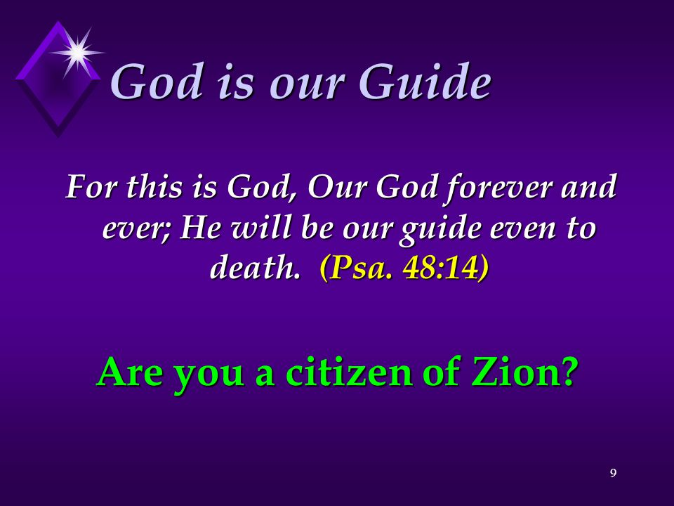 Are you a citizen of Zion
