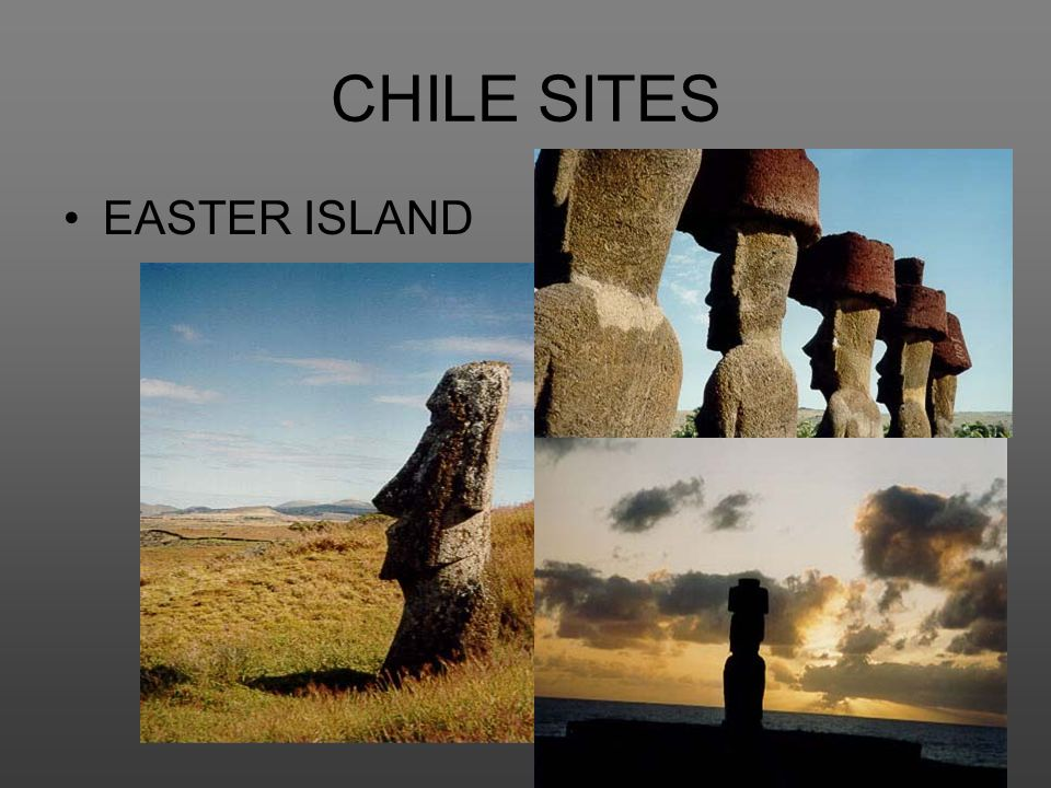 CHILE SITES EASTER ISLAND