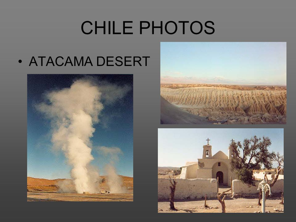 CHILE PHOTOS ATACAMA DESERT