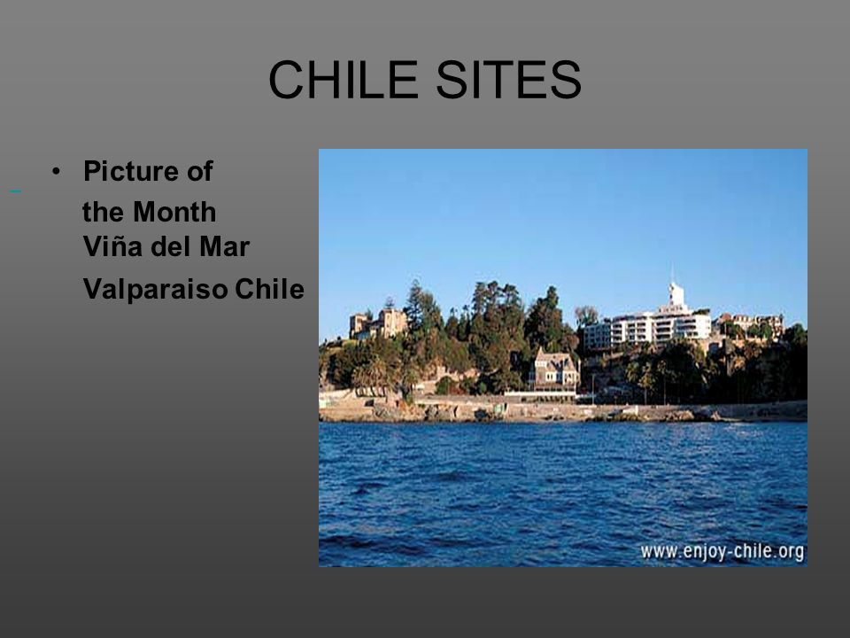 CHILE SITES Picture of.