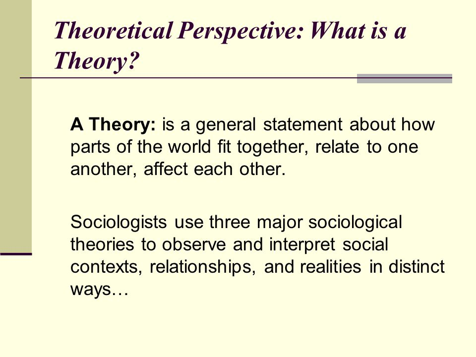 examine sociological theories that explain the Introduction to sociology/religion  many of the early sociological theorists proposed theories attempting to explain religion.