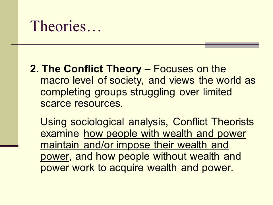 examine sociological theories that explain the Sociological theories are statements of how and why particular facts about the  social world are related they range in scope from concise descriptions of a  single social process to paradigms for analysis and interpretation some  sociological theories explain aspects of the social world and enable  field  theory examines social fields, which are social environments in which.