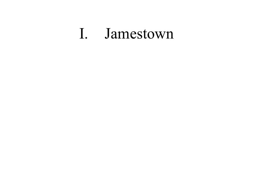 I. Jamestown