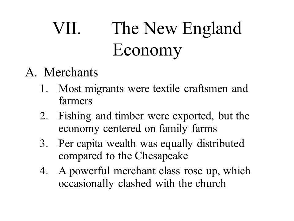 VII. The New England Economy
