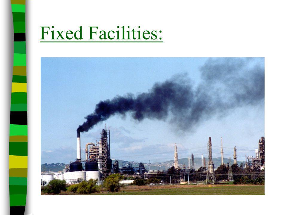 Fixed Facilities: